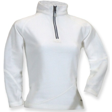 Entertainment The Boulder Gear Micro quarter-zip top wicks moisture away and dries quickly for all your favorite cold-weather pursuits. Non-pilling polyester microfleece has a lightly brushed surface that traps and retains body heat. Flatlock seams offer flexibility and comfort. Partial zip lets you release excess heat as needed. Closeout. - $26.93