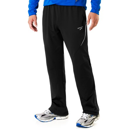 Fitness Brooks Utopia Thermal pants provide a pleasant climate next to your skin regardless of the weather that surrounds you. - $46.83
