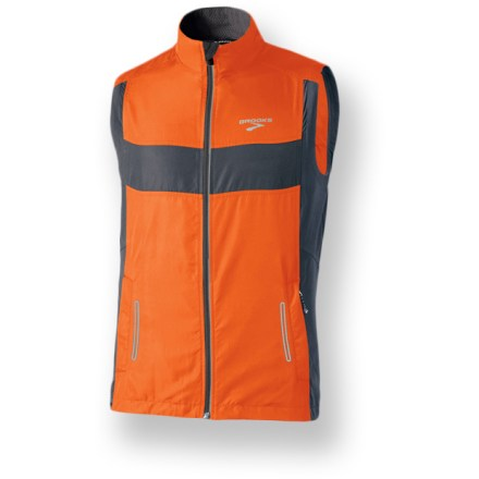 Fitness For runners who enjoy dusk and dawn, the Nightlife Essential Run Vest II from Brooks is sure to become a favorite training partner-no matter what climate greets you on the way out the door. - $36.83