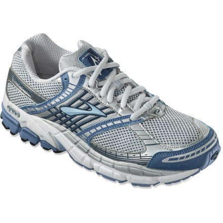 Fitness Brooks Ariel road-running shoes deliver sturdy motion control in a comfortable, flexible and highly tuned platform for those needing ample support for everyday fitness running or training. - $69.83