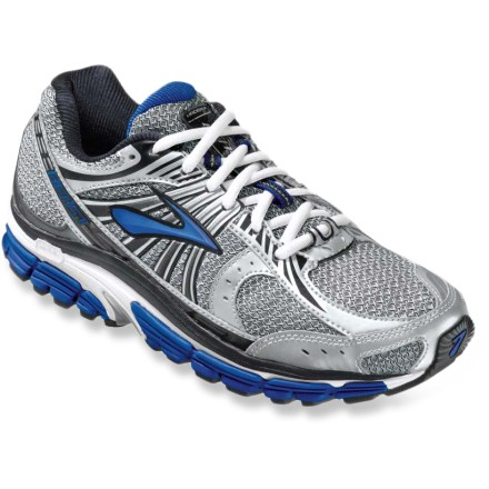 Fitness The supportive Brooks Beast 12 road-running shoes offer a stable, cushioned platform for runners looking for motion control in an everyday running shoe. - $69.83