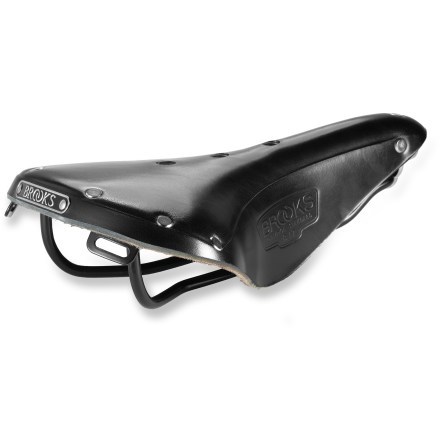 Fitness The sporty Brooks B-17 saddle is an excellent choice for touring, century rides, ultra-marathon rides and other demanding types of cycling. - $135.00