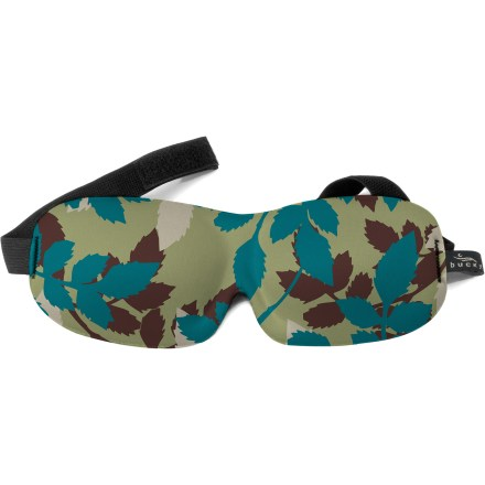 Entertainment Relax or sleep anytime, anywhere with the featherweight, molded-foam Bucky 40 Blinks Eye Mask. Contoured for pressure-free, smudge-free eye comfort, it blocks out light to help you fall asleep. - $12.95