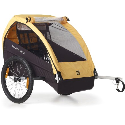 Fitness The Burley Bee bike trailer is simple, durable and dependable. Seats 1 or 2 children and comes ready to bike. - $199.93