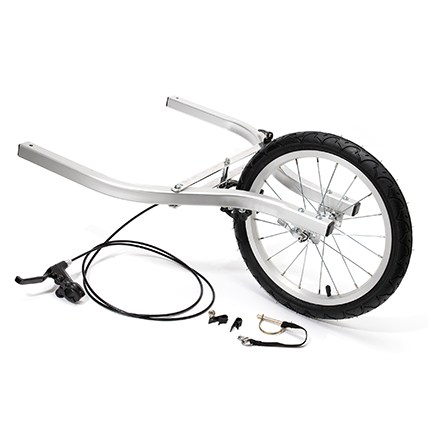 Fitness Turn your 2007 and newer Burley Solo(TM) trailer (sold separately) into a jogging stroller with this easy-to-use conversion kit. - $79.93