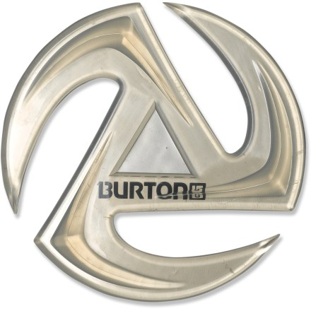 Snowboard Slap on the oversize Burton Air Logo Mat stomp pad for high traction. This stomp pad is cool and grip-happy! Includes 1 stomp pad. - $6.83