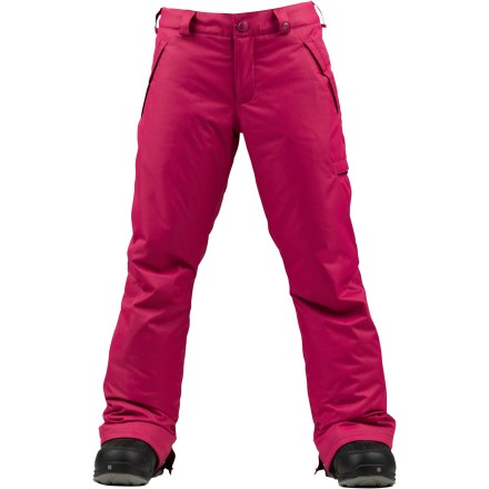 Snowboard The girls' Burton Sweetart pants serve up warm insulation, waterproof and breathable protection and a bunch of snow-ready features for your young snowboarder or skier. - $24.83