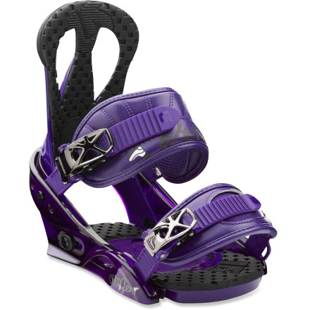Snowboard Soft and forgiving, the Burton Citizen bindings are a great choice for new women riders looking to progress to the next level. - $64.83