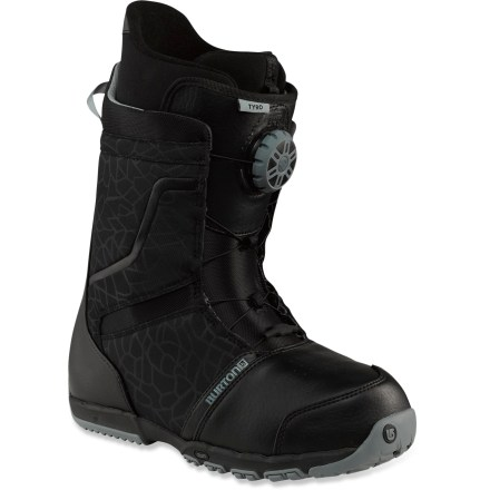 Snowboard Burton Tyro snowboard boots offer out-of-the-box comfort so you're feeling good on the slopes from day one. - $99.83