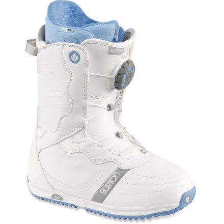 Snowboard Comfort, fit and good looks perfectly describe the freestyle-focused Burton Bootique snowboard boots. - $99.83