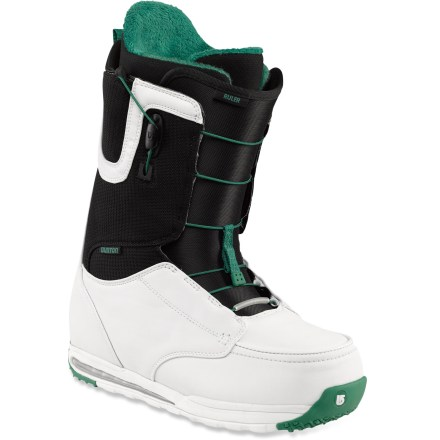 Snowboard From jibs to jumps, Burton Ruler snowboard boots measure up. With a legacy of pushing personal skills to the pro level, the Ruler is the boot for stepping up to larger drops and burlier features. - $108.83