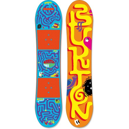 Snowboard The Burton After School Special snowboard package outfits them for on-snow shred sessions. Featuring a board and bindings, this is the perfect gift for an aspiring snowboarder. - $119.83