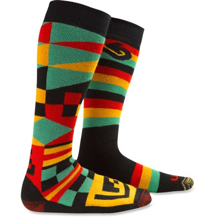Snowboard 2 pairs of Burton Weekender socks are perfect for those with 4 feet or anyone who prefers a fresh start to each day! - $20.93