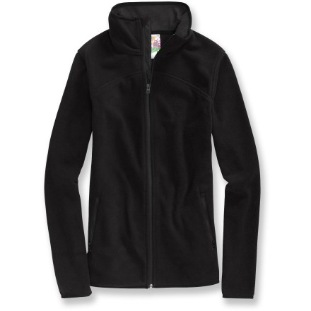 Snowboard Sporting a profile fit for street style or layering, the Burton Smolder fleece jacket provides sizzling warmth that mirrors your every move. - $33.73