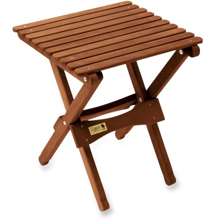 Camp and Hike Attractive and sturdy, the Byer Pangean folding table travels easily from the backyard to the beach. - $34.95