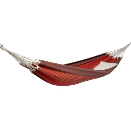 Camp and Hike Large enough for 2 people, the Byer Amazonas Paradiso Double hammock swallows you up in comfort. - $89.93