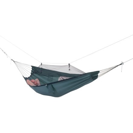 Camp and Hike Byer Moskito Traveller Hammock offers a cocoon of comfortable, insect-free space. - $21.93