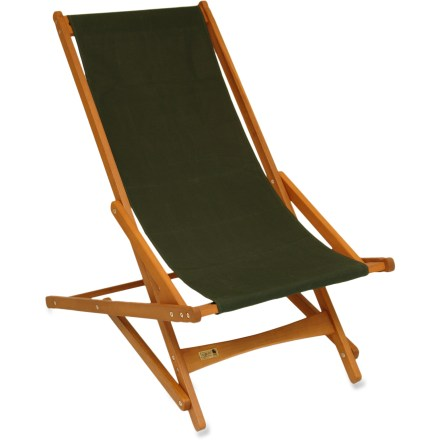 Camp and Hike The handcrafted Byer Pangean Glider chair is an attractive and comfortable choice for the beach, patio, deck or lawn. - $74.95
