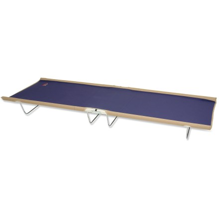 Camp and Hike Enjoy a good night's sleep at the cabin or car-camping site on this sturdy and strong cot. Plus version of the cot features a center panel that's double-stitched for support and comfort. - $40.93