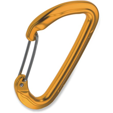 Climbing The compact C.A.M.P. USA Orbit Wire straight gate carabiner is suitable for all-around use and for making your own quickdraws for sport and traditional climbing. - $3.93