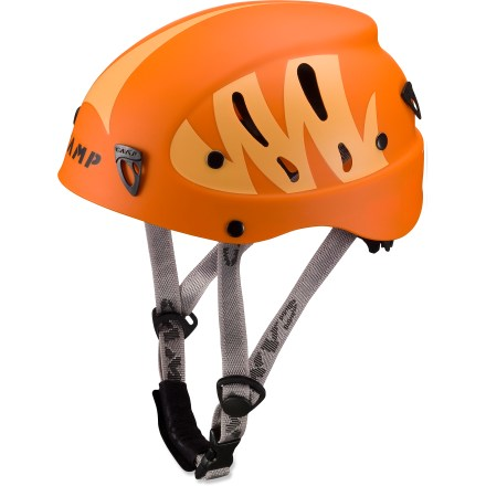 Climbing Sized and styled specifically for kids, the C.A.M.P. USA Armour Junior helmet offers an excellent fit and superior protection for rock climbing, ice climbing and mountaineering. - $34.93
