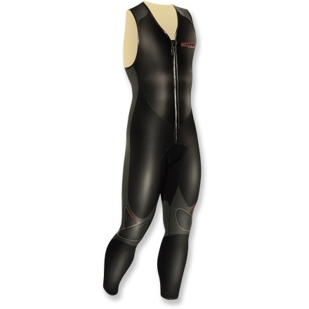 Kayak and Canoe The Camaro Freefall Farmer John wetsuit offers warmth to your core and legs. - $67.73
