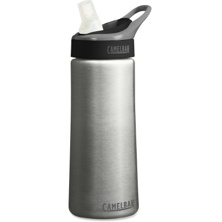 Camp and Hike Use the CamelBak Stainless-Steel GrooveTM Filter water bottle to turn your potable tap water into great-tasting water that you can enjoy while at home, in the office or on the go. - $21.93