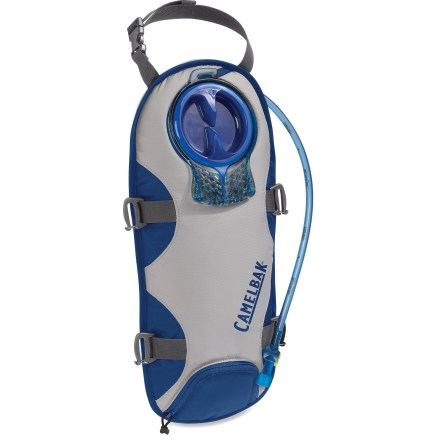 Camp and Hike This BPA-free CamelBak UnBottle insulated reservoir adds 100 fl. oz. of hydrating fluid to your backpack. It features an updated reservoir with improved stability and quick-connect enhancements. - $49.00