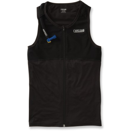 Ski The CamelBak Powderbak(TM) Hydration vest integrates wearable hydration into a full-zip mid layer. - $59.93