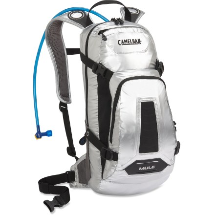 Fitness The CamelBak M.U.L.E. hydration pack provides plenty of gear storage and water capacity to keep you out enjoying the trails all day, if that's what it takes to get where you want to go. - $39.93