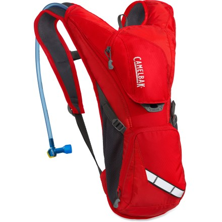 Fitness The CamelBak Rogue hydration pack melds an efficient low-profile silhouette with enough storage for a couple of hours on your bike. - $50.93