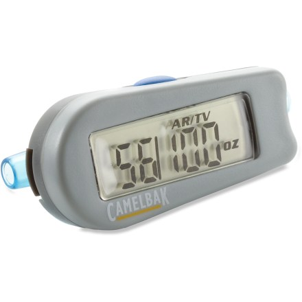 Fitness The CamelBak Flow Meter hydration gauge converts your CamelBak reservoir into an intelligent hydration system. - $19.93