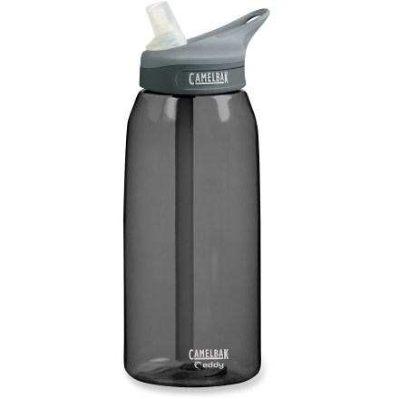 Camp and Hike Enjoy spill-proof sipping at work or on the trail with the CamelBak eddy(TM) water bottle. - $16.00