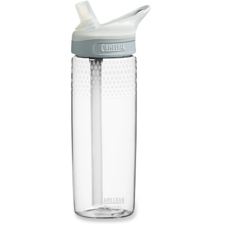 Camp and Hike Enjoy spill-proof sipping at work or on the trail with the 20 fl. oz. CamelBak eddy(TM) water bottle. - $9.93