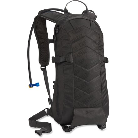 Fitness The streamlined CamelBak Asset 70 fl. oz. hydration pack not only keeps your hydration needs covered, it hauls your riding essentials for 2+ hour mountain biking adventures. 70 fl. oz. Antidote(TM) reservoir is equipped with the Quick Link(TM) connection system for hassle-free removal of the insulated drinking tube. Quick Link system also lets you effortlessly add accessories such as a Fresh(TM) filter, insulated tube, tube director or flow meter (accessories sold separately). Big Bite(TM) valve is ergonomically positioned for easy drinking and can be easily shut off with a quarter turn. Air Director(TM) ventilated back panel and mesh shoulder straps offer cooling airflow and quick drying performance. Main compartment is lined with hi-vis material to make it easy to find contents; full-length clamshell zipper means you can open the main compartment fully. Organizing small essentials is easy thanks to the multiple internal organizer pockets; top-accessed zippered goggles pocket is lined to protect optics. Adjustable straps help keep everything secure and use side-release buckles for quick, easy access; all straps have retainer bands to keep loose ends from flapping around. Slider sternum strap and a removable hipbelt allow you to adjust the fit of the pack. CamelBak Agent 70 fl. oz. hydration pack is designed to carry a full-face helmet, body armor, goggles, extra layer, snack, tools, pump, tubes, phone, wallet and keys. - $115.00