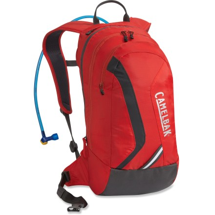 Fitness The CamelBak Blowfish 70 fl. oz. hydration pack boasts expandable cargo capacity for rides lasting 2+ hours. - $37.93