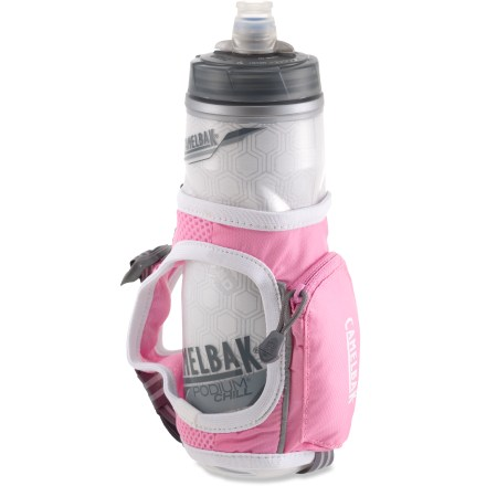 Camp and Hike The CamelBak Quick Grip(TM) water bottle keeps your water cool and close at hand when you're training hard. - $8.93