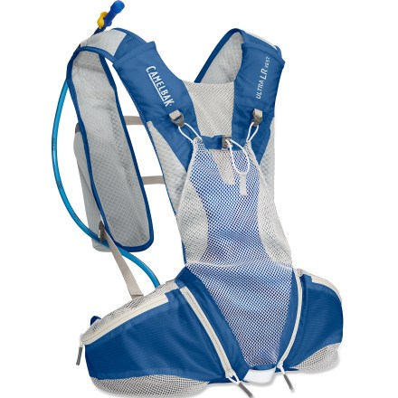 Fitness Before your next long-distance run or trail race, load up the CamelBak Ultra LRTM hydration vest with water and energy food to get you through the day. - $44.83