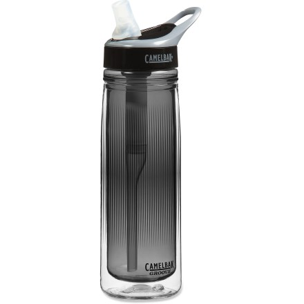 Camp and Hike The CamelBak GrooveTM Insulated Filter bottle turns potable tap water into great-tasting water and keeps it cool so you can enjoy it at home, in the office or on the go. - $17.93