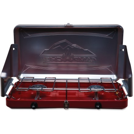 Camp and Hike The Camp Chef Sierra 2-burner stove is ready for your road trips and camping adventures. - $41.93