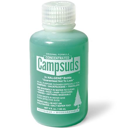 Camp and Hike Now get all-purpose, biodegradable Campsuds soap in a leak-proof, re-usable Nalgene(R) bottle. - $5.95