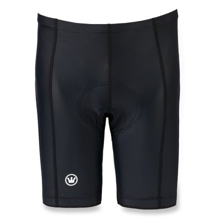 Fitness These Canari Gel Vortex bike shorts deliver incredible support and high performance on race days or training rides. Nylon/spandex blend combines durability with freedom of movement. Gel pad system dissipates shock and reduces skin irritation by forming a fluid barrier between the hard saddle shell and the rider's anatomy. Flatseam construction is soft and non-chafing next to skin. Elasticized waist and soft-touch leg grippers keep shorts from bunching as you ride. Special buy. - $26.73