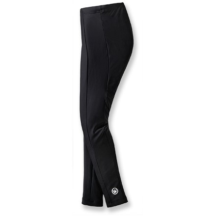 Fitness Thick fabric and a built-in chamois make the Canari Veloce bike tights for women a great choice for everyday cold-weather workouts. - $21.73