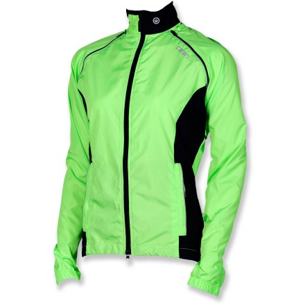 Fitness Designed for cyclists who are ready to work hard no matter the weather, the Canari Pro Tour bike jacket converts easily to a vest or even a waistpack for the ultimate in versatility. - $34.83