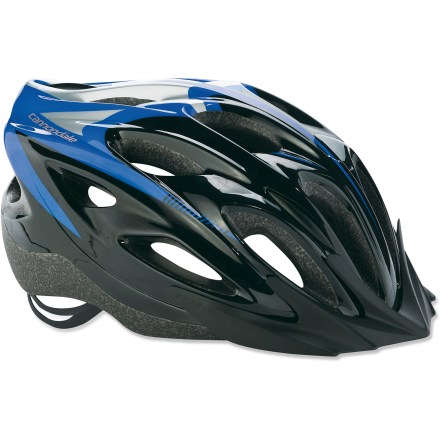 Fitness A fantastic value, this Cannondale Quick bike helmet places comfort high on the list, thanks to easy adjustment, plenty of padding and great airflow. - $29.93