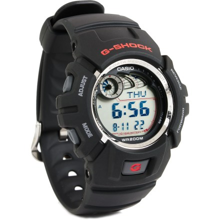 Entertainment The Casio G-Shock G2900F-1V watch is brings shock-resistant reliability and waterproof durability to your outdoor adventures. - $66.93
