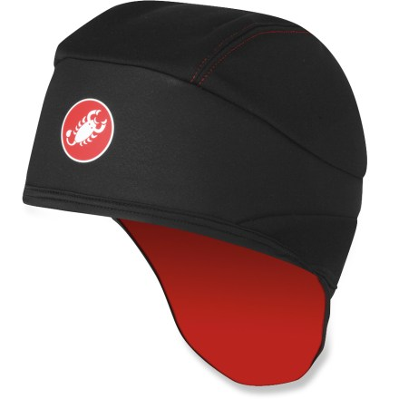 Fitness Extending over your ears, this Castelli WS Skully bike cap features WindStopper(R) X-Lite(TM) Plus fabric in the front for protection from strong headwinds and extreme cold conditions. - $27.93