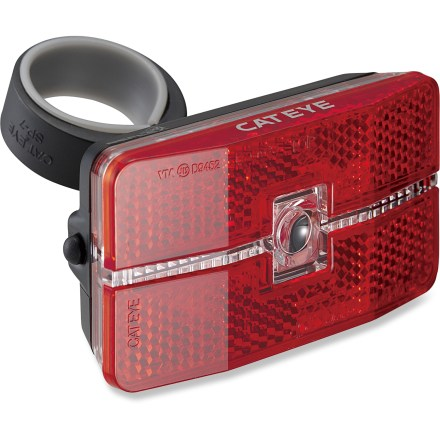 Fitness Never worry about turning your taillight on (or off) again! The TL-LD 570 Reflex Auto rear bike light has both optic and motion sensors that determine when to automatically activate this light. - $17.93