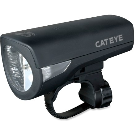 Fitness The CatEye HL-EL340 Econom front bike light offers reliable illumination for your riding needs. - $15.93