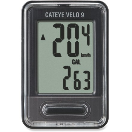 Fitness Get all the basics and a great value with the CatEye CC-VL820 Velo 9 wired bike computer. - $21.93